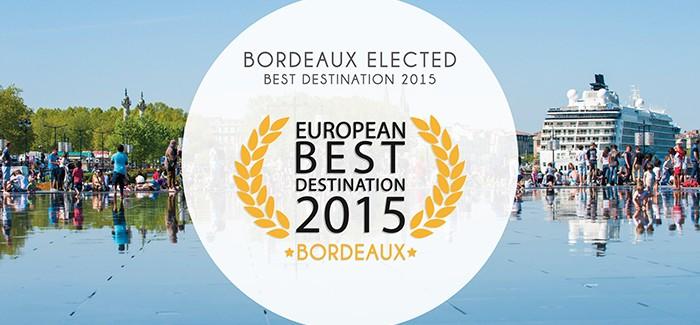 Bordeaux meilleur destination 2015